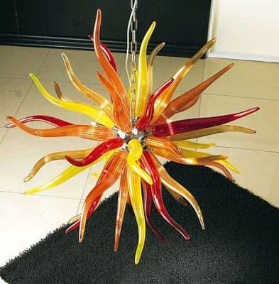 Люстра муранского стекла