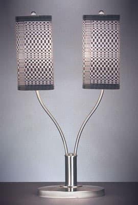 Настольная лампа  «Optical doppio»