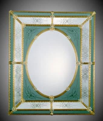 Зеркало муранского стекла