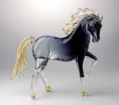 Лошадь муранского стекла