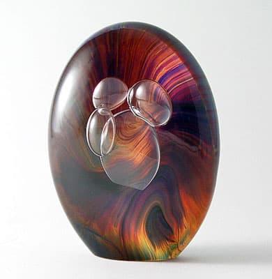 Яйцо муранского стекла