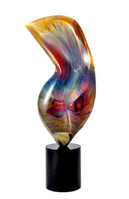 Скульптура «Превращение» муранского стекла