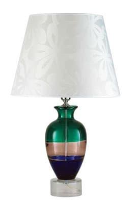 Настольная лампа муранского стекла