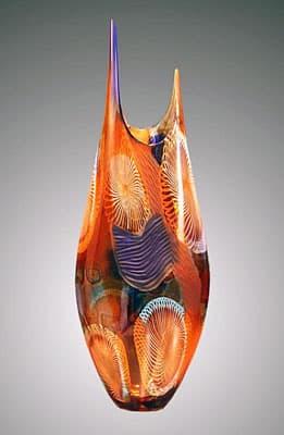 Ваза муранского стекла