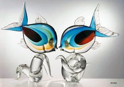 Рыбы муранского стекла