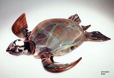 Черепаха муранского стекла