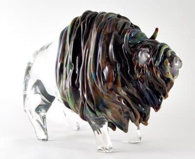 Буйвол муранского стекла