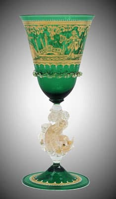 Кубок муранского стекла